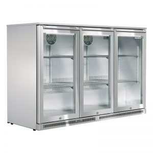 Husky Triple Door Outdoor Alfresco Bar Fridge - ALF-C3-840