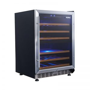 Vino Pro Dual Zone Wine Fridge in Stainless Steel Trim